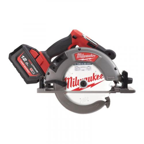 M18 FCSG66-121C - Circular saw for wood and plastics 66 mm, 18 V, 12.0 Ah, FUEL™, in case, with battery and charger