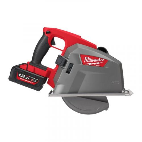 M18 FMCS66-121C - Metal circular saw 66 mm, 18 V, 12.0 Ah, FUEL™, in case, with battery and charger