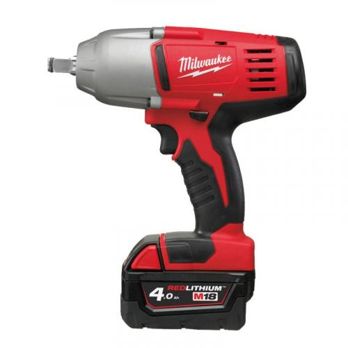 """HD18 HIWF-402C - Impact wrench with pin detent 1/2"""", 610 Nm, 4.0 Ah, 18 V, in case, with 2 batteries and charger"""