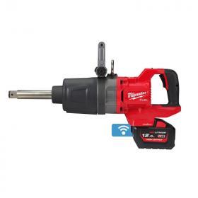 """M18 ONEFHIWF1D-121C - Klucz udarowy 1"""" z rękojeścią D, 2576 Nm, 18 V, 12.0 Ah, ONE-KEY™, w walizce, z akumulatorem i ładowarką"""