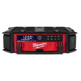 M18 PRCDAB+-0 - Radio/ładowarka 18/230V PACKOUT