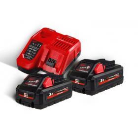 M18 HNRG-302 - Zestaw 2 akumulatorów M18™ HIGH OUTPUT™, Li-ion 18 V, 3.0 Ah + szybka ładowarka