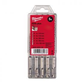 4932352338 - Zestaw wierteł udarowych do betonu SDS Plus M2, 2-ostrzowe, 5 - 10 mm (5 szt.)