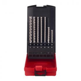 4932478627 - Zestaw wierteł SDS-Plus MX4, 4-ostrzowe, 5 - 10 mm (7 szt.)