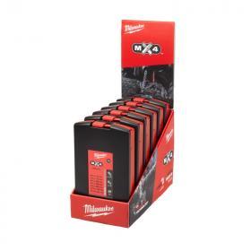 4932478673 - Zestaw x6 wierteł SDS-Plus MX4, 4-ostrzowe (7 szt.)