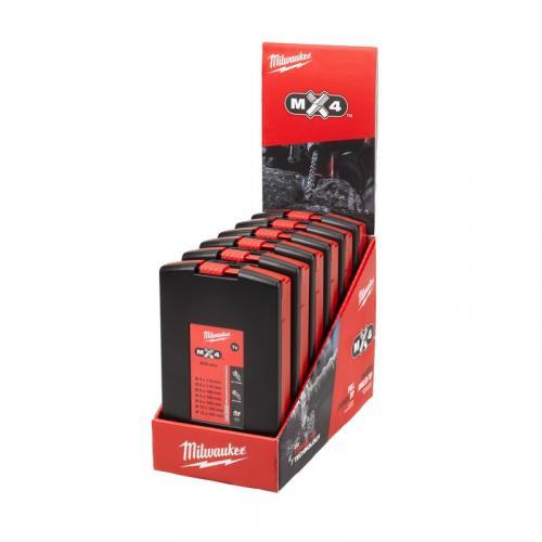 4932478674 - Zestaw x6 wierteł SDS Plus MX4, 4-ostrzowe (7 szt.)