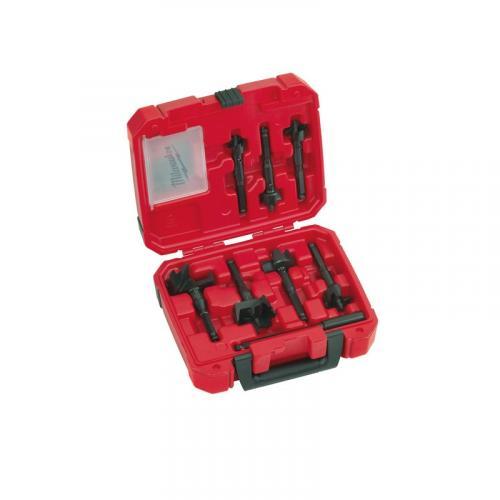49220130 - Zestaw dla instalatorów wiertła samoposuwne do drewna, 25 - 65 mm (7 szt.)