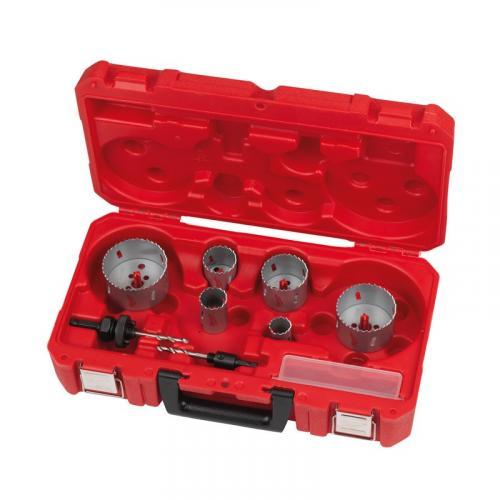 4932464719 - Zestaw otwornic bimetalowych Contractor, 25 - 76 mm (10 szt.)