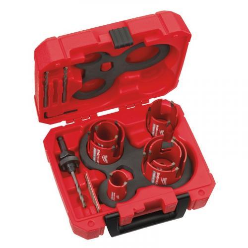 4932464939 - Tungsten Carbide holesaw set BIG HAWG™ Multi Material, 35 - 76 mm (10 pcs.)