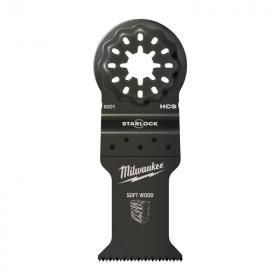 48906004 - Brzeszczot do Multitoola do cięcia wgłębnego drewna, 35 x 42 mm (10 szt.)