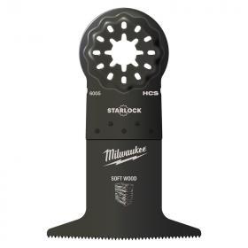 48906005 - Brzeszczot do Multitoola do cięcia wgłębnego drewna, 65 x 42 mm (1 szt.)