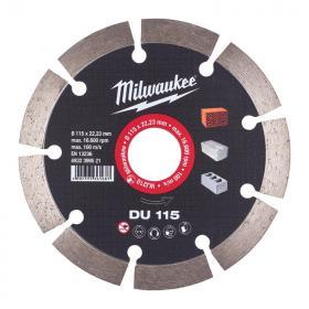 4932399521 - Tarcza diamentowa tnąca DU 115 x 22,23 mm