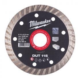 4932399526 - Tarcza diamentowa tnąca DUT 115 x 22,23 mm