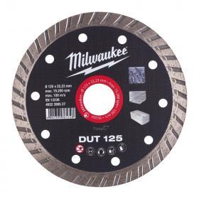 4932399527 - Tarcza diamentowa tnąca DUT 125 x 22,23 mm