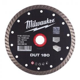 4932399528 - Tarcza diamentowa tnąca DUT 180 x 22,23 mm