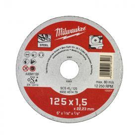 4932451479 - Tarcza do cięcia metalu Contractor 125 x 1,5 x 22,2 mm (1 szt.)