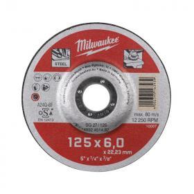 4932451482 - Tarcza do szlifowania metalu Contractor 125 x 6 x 22,2 mm (1 szt.)