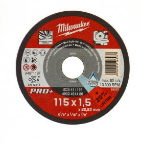 4932451486 - Tarcza cienka do cięcia metalu PRO+ 115 x 1,5 x 22,2 mm (1 szt.)