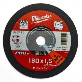 4932451489 - Tarcza cienka do cięcia metalu PRO+ 180 x 1,5 x 22,2 mm (1 szt.)