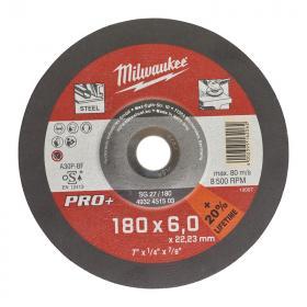 4932451503 - Tarcza do szlifowania metalu PRO+ 180 x 6 x 22,2 mm (1 szt.)