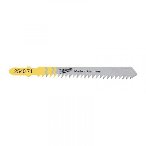 4932254071 - Brzeszczot do wyrzynarki do drewna i tworzysz sztucznych, 75 mm (5 szt.)