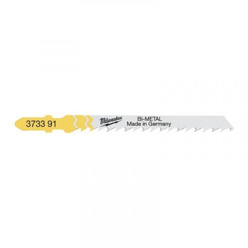 4932373391 - Brzeszczot do wyrzynarki do drewna szybkotnący, Bi-metal, 75 mm (5 szt.)