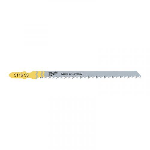 4932311633 - Brzeszczot do wyrzynarki do drewna szybkotnący, 105 mm (5 szt.)