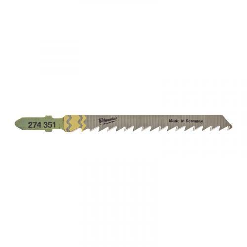 4932373490 - Brzeszczot do wyrzynarki do czystego i bezodpryskowego cięcia w drewnie, 75 mm (25 szt.)