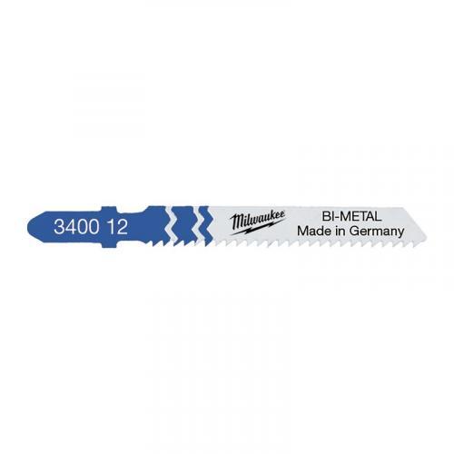 4932340012 - Brzeszczot do wyrzynarki do metalu, Bi-metal, 55 mm (5 szt.)