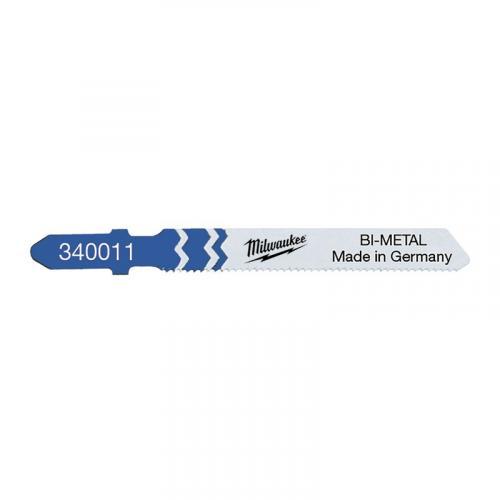 4932340011 - Brzeszczot do wyrzynarki do metalu, Bi-metal, 55 mm (5 szt.)