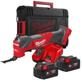 M18 FMT-502X - Multi-tool 18 V, 5.0Ah, in case, with 2 batteries and charger