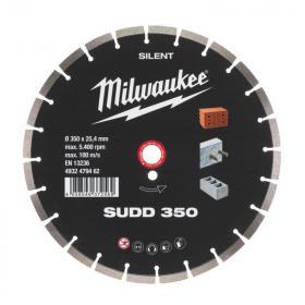 4932479462 - Tarcza diamentowa tnąca cicha SUDD 350 x 25,4 mm
