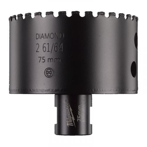4932478286 - Wiertło diamentowe do wiercenia na sucho, M14 Diamond Max, 75 mm (1 szt.)